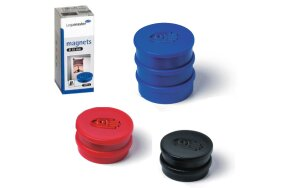 COLOURED MAGNETS D 35mm LEGAMASTER